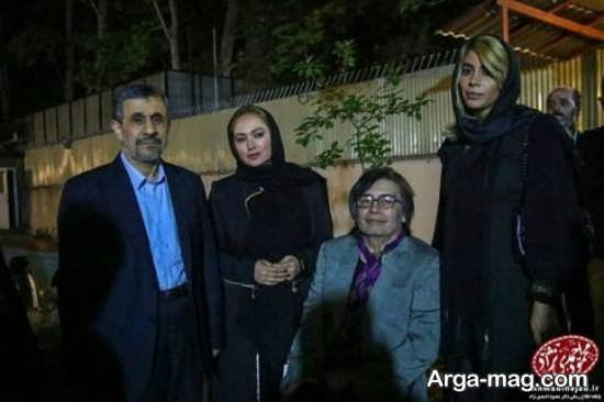 صحنه متفاوت از گپ ابوالفضل پورعرب با احمدی نژاد در مراسم افطاری!