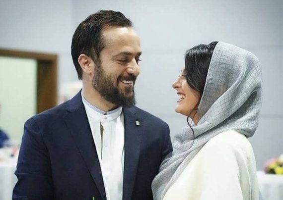 احمد مهران فر و همسرش