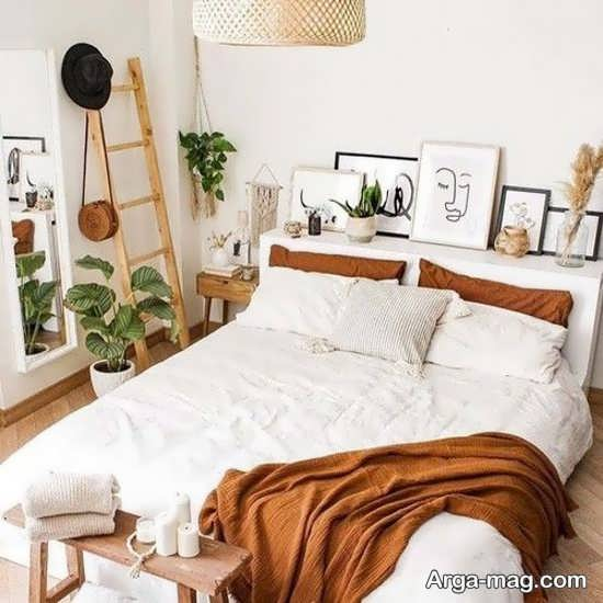 دیزاین اتاق خواب به سبک زیبا