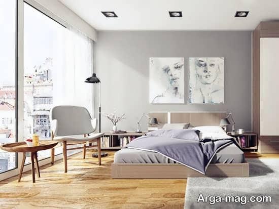 دیزاین زیبا و منحصر به فرد اتاق خواب