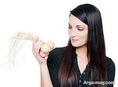 تقویت مو و خواص سیر