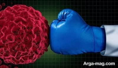 مبارزه با سلول های سرطانی