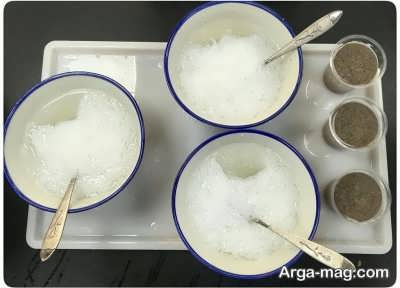 دستور تهیه فالوده شیرازی