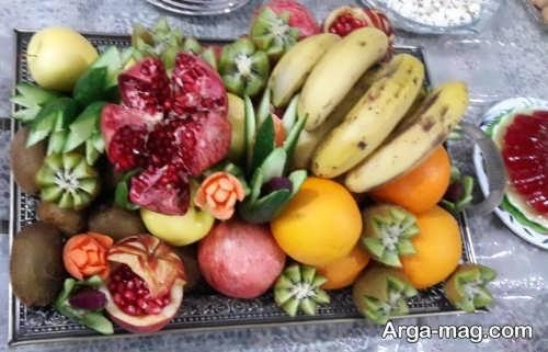 تزیینات زیبا برای میوه