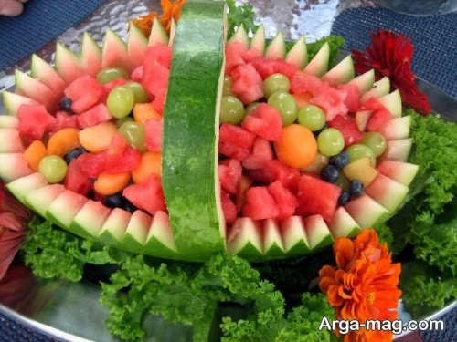زیباسازی هندوانه