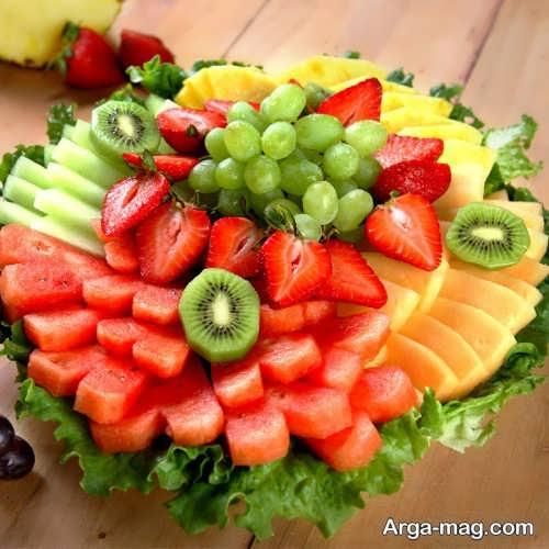 تزیینات زیبا میوه