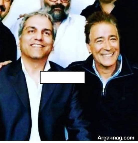 ناصر حجازی و مهران مدیری