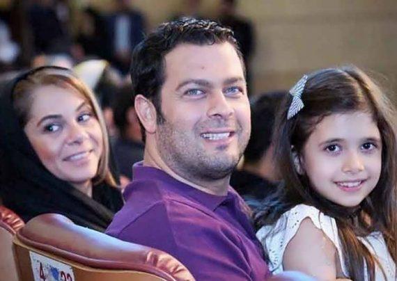 عکس خانوادگی پژمان بازغی
