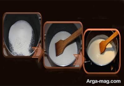 روش پخت فرنی