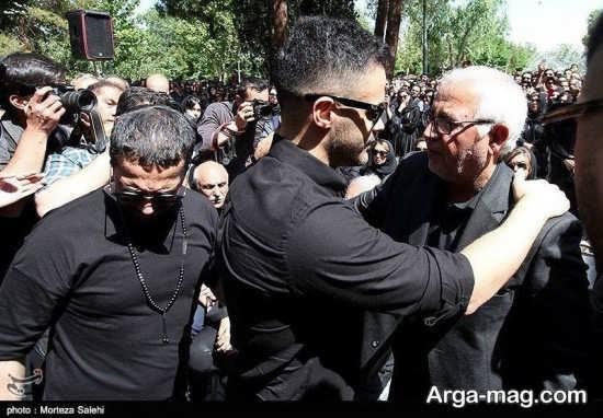 پدر بهنام صفوی در آغوش برادران خسروی