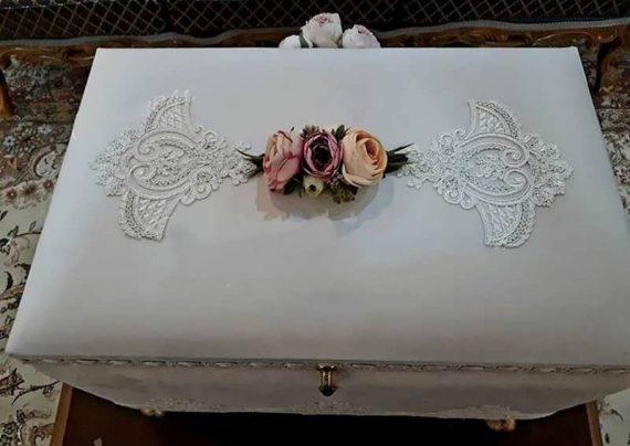 تزیین صندوقچه عروس