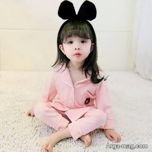 مدل لباس خواب کودک ساده