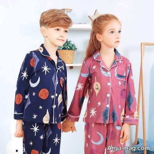 لباس کودک طرح دار