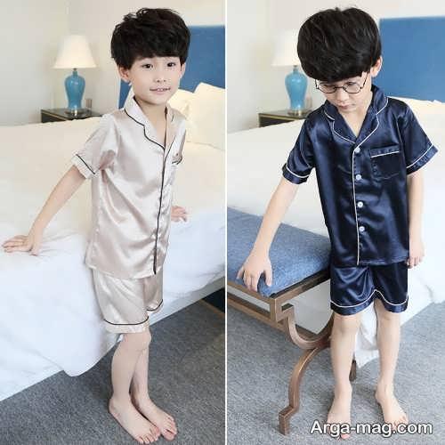 لباس خواب کودک طرح دار و شیک