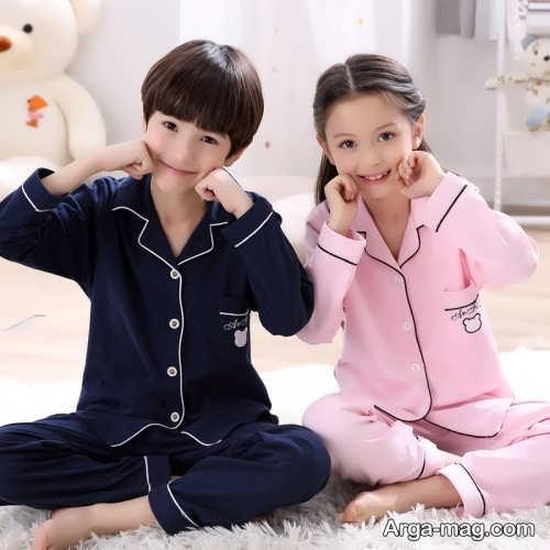 لباس خواب ساده بچه گانه دخترانه و پسرانه