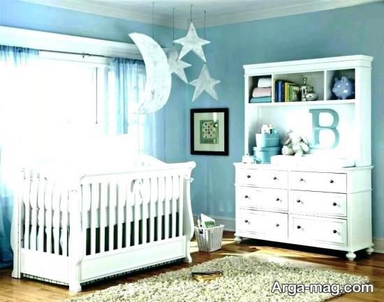 تزیین زیبای اتاق نوزاد
