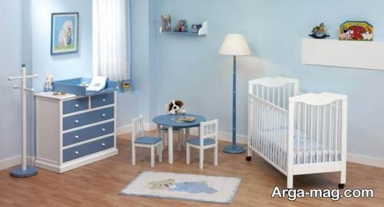 چیدمان داخلی اتاق نوزاد