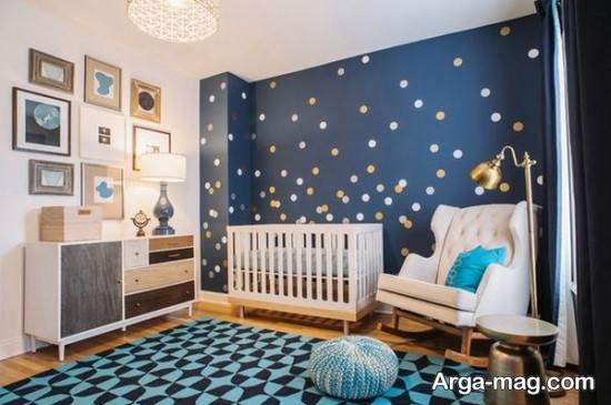 خلاقیت در تزیین اتاق نوزاد