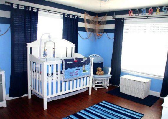 دکوراسیون اتاق نوزاد پسرانه