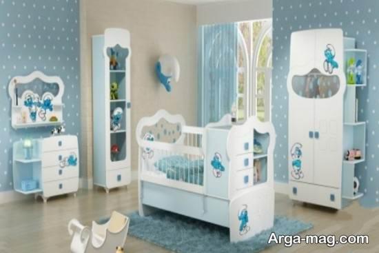 خلاقیت در تزیین اتاق نوزاد با وسایل ساده