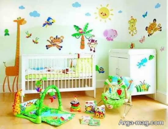 تزیین اتاق نوزاد+عکس
