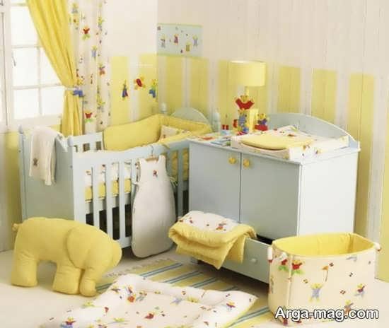 تزیین متفاوت اتاق نوزاد