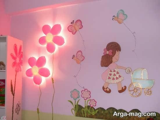 تزیین جذاب اتاق نوزاد