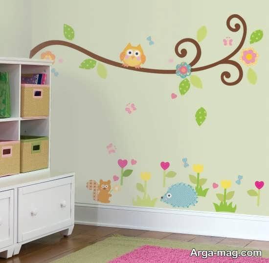 تزیین مدرن اتاق نوزاد
