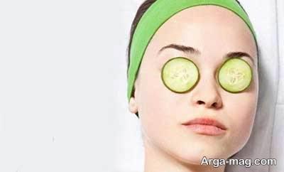 استفاده از خیار به منظور درمان قرمزی چشم