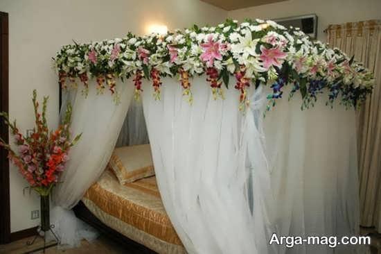 دکوراسیون جذاب اتاق خواب عروس
