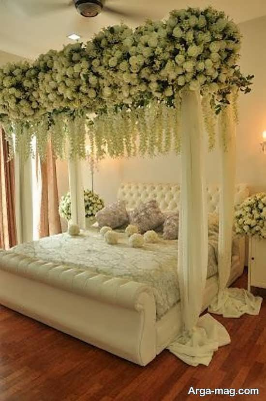 دکوراسیون متفاوت اتاق خواب عروس