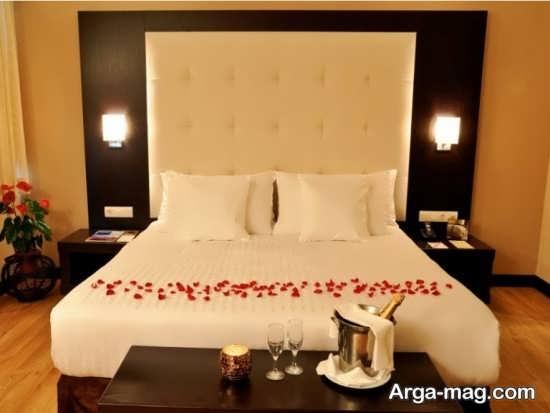 دیزاین فوق العاده اتاق خواب عروس