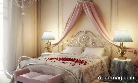 دیزاین شیک اتاق خواب عروس