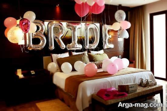 تزئین برای اتاق خواب عروس