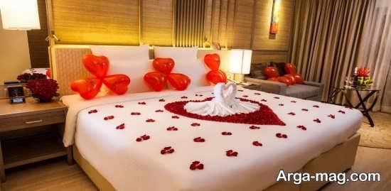تزیین برای اتاق خواب عروس