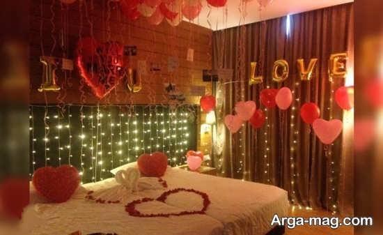 تزئین متفاوت اتاق خواب عروس