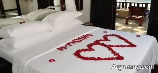تزیین و طراحی اتاق خواب عروس