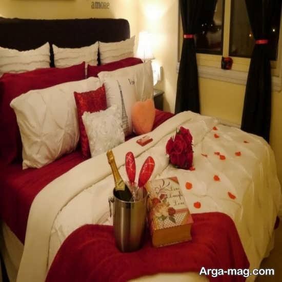 تزئین جذاب اتاق خواب عروس