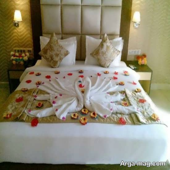 تزیین خاص اتاق خواب عروس