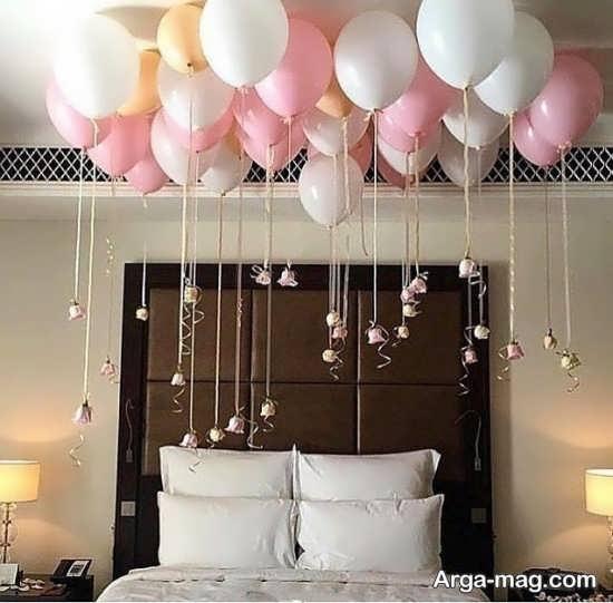 تزیین متفاوت اتاق خواب عروس