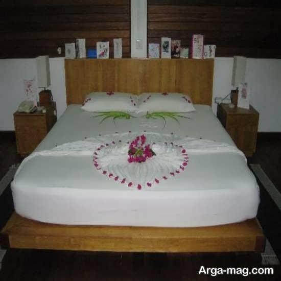 تزیین شیک اتاق خواب عروس