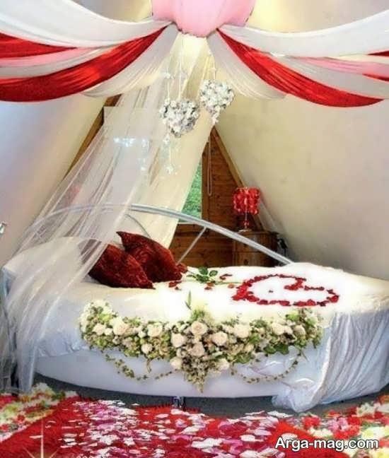 تزیین جذاب اتاق خواب عروس