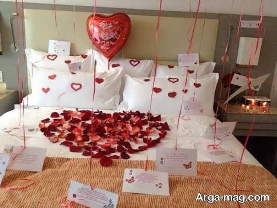 تزئین اتاق خواب برای عروس و داماد
