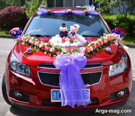 تزئین جدید ماشین عروس