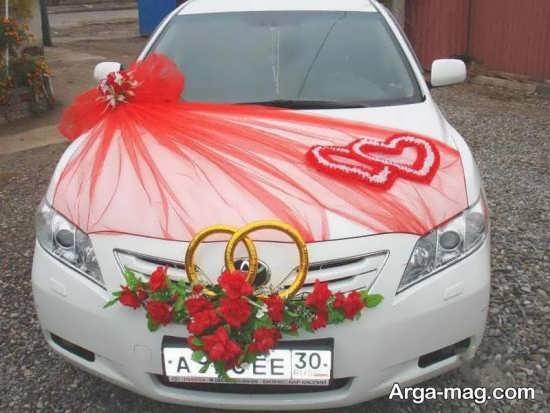 تزئین جذاب ماشین عروس