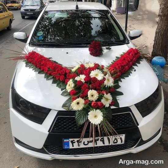 تزئین زیبای ماشین عروس