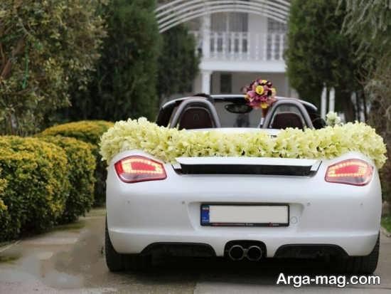 تزیین جدید ماشین عروس