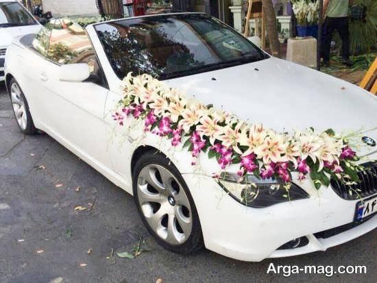 تزیین لاکچری ماشین عروس