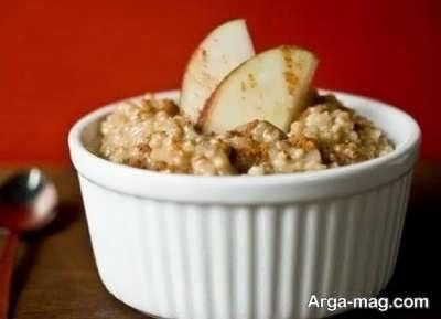 روش تهیه دسر سیب