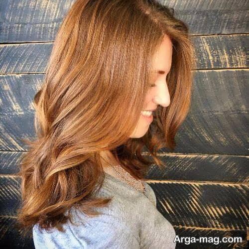 رنگ موی روشن کاراملی